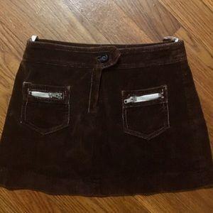 VKK Girl's Size 6 Mod Mini Skirt